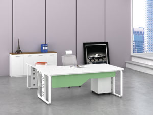 Office Furniture Metal Steel Office Staff Workstation Table Frame with Ht66-3 pictures & photos