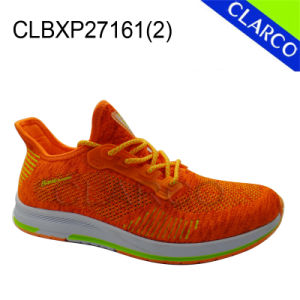 Good Quality Men Sports Sneaker Shoes with TPR Sole pictures & photos