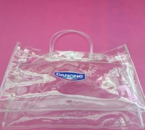 OEM High Quality Transparent Waterproof PVC Handbag pictures & photos