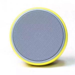 Yellow Round Mini Wireless Portable Bluetooth Speaker pictures & photos