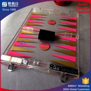 Chinese Factory Handmade high Quality Acrylic Backgammon pictures & photos