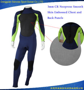 3mm Men UV Protective Colorful Thermal Swim Surfing Suit pictures & photos