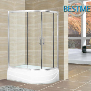 Glass Aluminum-Framed Shower Enclosure with Acrylic Tray (BL-Z3513) pictures & photos