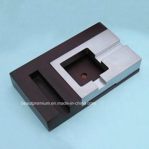 New Decorative Design Rectangle Shape Bicolor Metal Ashtray BPS0194