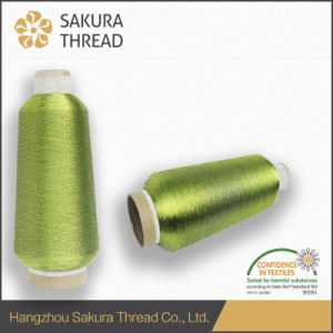 RoHS Standard Metallic Thread for Knitting Cloth pictures & photos