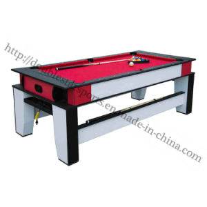 2 in One Pool Table Air Hockey Table Combo with Auto Ball Return System pictures & photos