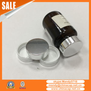 Shinny Gold Silver Pharmaceutical Packaging Aluminum Bottle Cap pictures & photos