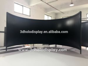 180degree Curved Projector Screens for Simulation pictures & photos