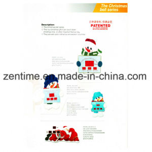Cartoon LED Wall Clock for Christmas Gift pictures & photos