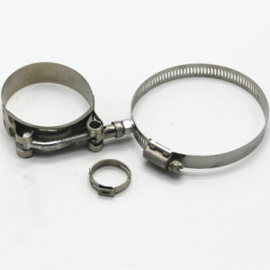 Stainless Steel Motorcycle Exhaust Clamp Heavy Duty T-Bolt Clamp pictures & photos