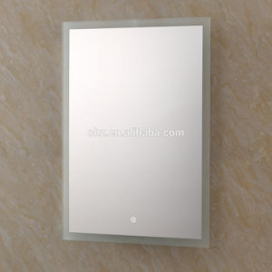 Bathroom Stainless Steel LED Side Mirror for Hotel pictures & photos