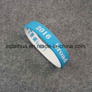 Wholesale Healthly Souvenir Silicone Wristband pictures & photos