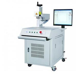 Semiconductor End Pumped Laser Marking Machine 20W pictures & photos