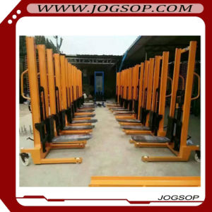 1 to 1.5t Manually Propelled Powered Lifting Pallet Stacker pictures & photos