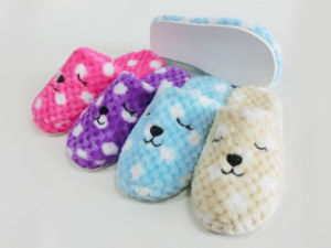 Ladies Cute Indoor Warm Nice Soft Slipper  with Rabbit pictures & photos