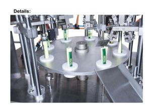 Sime-Automatic Metal Tube Liquid Paste Filling Sealing Machine Filler Equipment pictures & photos