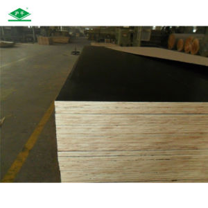 Cheap Black Construction 18mm Water Proof Plywood pictures & photos
