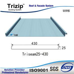 Low Rib Standing Seam Roofing Sheet (Triseam25-430) /Metal Sheet/Metal Roof pictures & photos