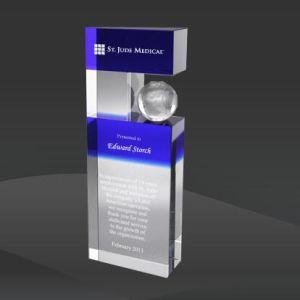 International Globe Crystal Award (MPI-CR-A630WS-9) pictures & photos