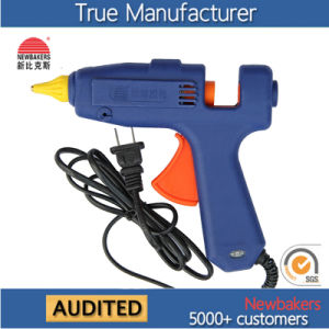 Yellow Sol Strips Hot Melt Glue Gun, Hot Glue Gun, Industrial Glue Gun 40W pictures & photos