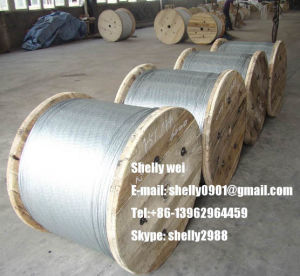 1X7 Ehs 1/ 4 ′ Galvanized Steel Cable Stay Wire Guy Wire ASTM A475 Class a pictures & photos