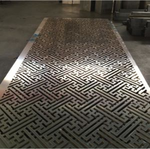 Fashion Design CNC Cutting Aluminum Cladding with Customized Pattern pictures & photos