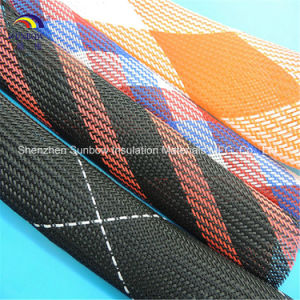 Colorful Pet Expandable Fishing Rod Covers Braided Protection Sleeving pictures & photos