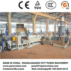 Plastic Recycling Machine for Stretch Film Pelletizing pictures & photos