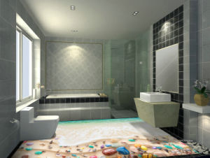 3D Design for Hotel Floor Tiles Bathroom Tiles pictures & photos