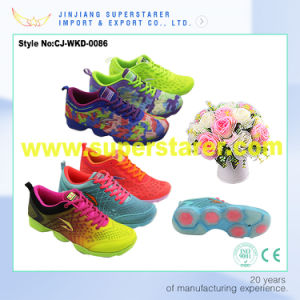 Latest EVA Summer Mesh Sport Shoes Women, Funky Sneakers Women pictures & photos