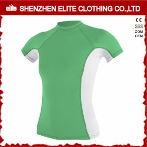 Women Sportswear Fashion Lycra Rash Guard (ELTRGI-49) pictures & photos