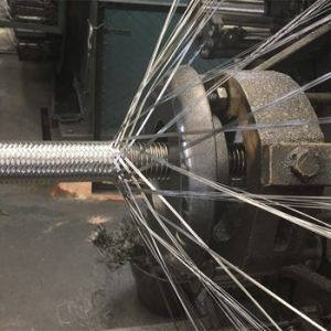 Flexible Metallic Hose Wire Braiding Machine pictures & photos