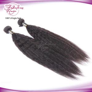 African Black Women Kinky Straight Human Hair Virgin Brazilian Hair pictures & photos
