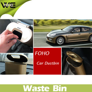Simple ABS Material Smart Plastic Car Dustbin for Car pictures & photos
