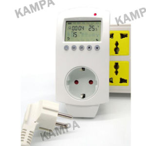 3kw 16A Switchover Programmable Plug in Thermostat EU pictures & photos