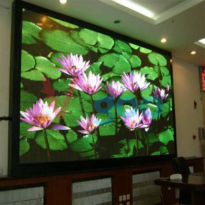 4mm High Quality Full Color Indoor LED Display Screen for LED Video Wall pictures & photos