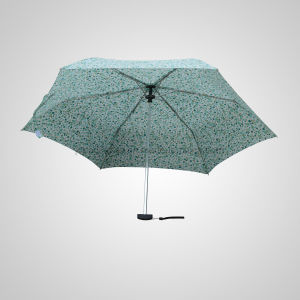 3 Fold Manual Open Mini Flat Fashion Advertising and Promotional Umbrella (JF-MPC301) pictures & photos