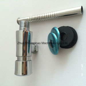 Push Type Flush Valve Brass Wash Valve pictures & photos