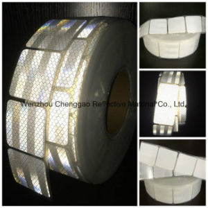High Visibility Micro Prism White Retro Reflective Tape pictures & photos