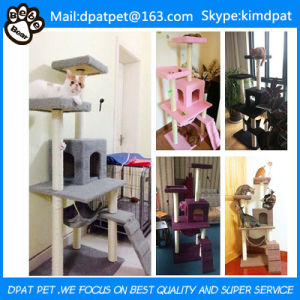Factory Wholesale Comfortable OEM Design Cat Tree Scratcher pictures & photos