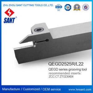 Qegd Parting & Grooving Tool Holder for CNC Lathe Machine pictures & photos