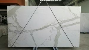 Italian White Marble Calacutta Marble Slab pictures & photos