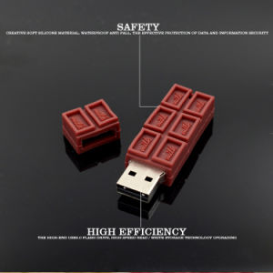 Chocolate Shaped USB Flash Disk pictures & photos