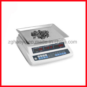 Digital Counting Desktop Scale 15 Kg From Haoyu pictures & photos