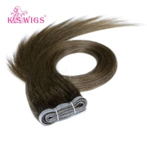 Wholesale Price Human Virgin Remy PU Skin Hair Weft pictures & photos