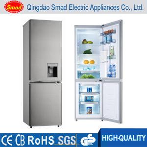 270L Bottom Freezer Refrigerator Double Door Refrigerator with Water Dispenser pictures & photos