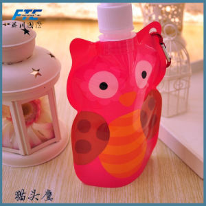 Customized Printed Customized Logo Folding Sports Water Bottle pictures & photos