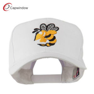 White Flying Hornet Mascot Embroidered Baseball Cap (02057) pictures & photos