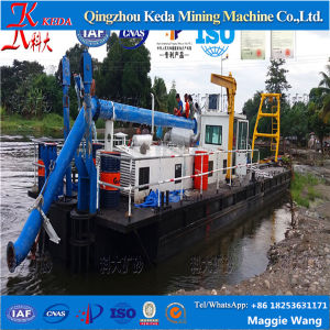 Professionally Factory Diesel Power Cutter Suction Dredger pictures & photos