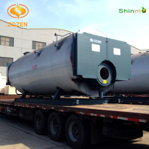 Packaged Wet Back Firetube Diesel Fired Steam Generator (WNS8-1.25-Y/Q)